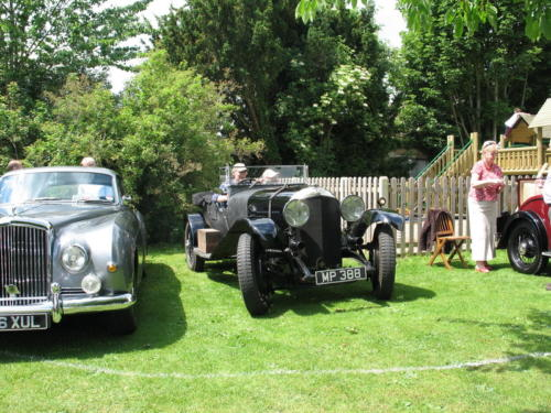 CH 16 - the bentley that squeezed in late